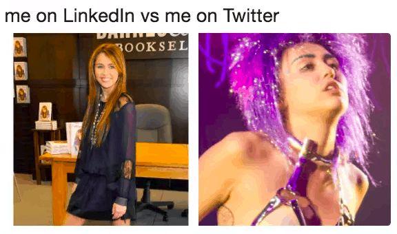 social media marketing - linkedin vs twitter