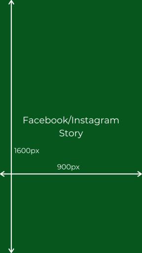 facebook instagram story wymiary