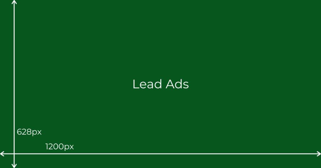 wymiary lead ads